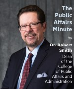 Dr. Robert W. Smith, Dean of the College of Public Affairs and Administration
