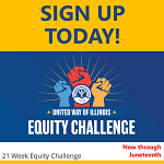 Sign up today for the Illinois United Way Equity Challenge